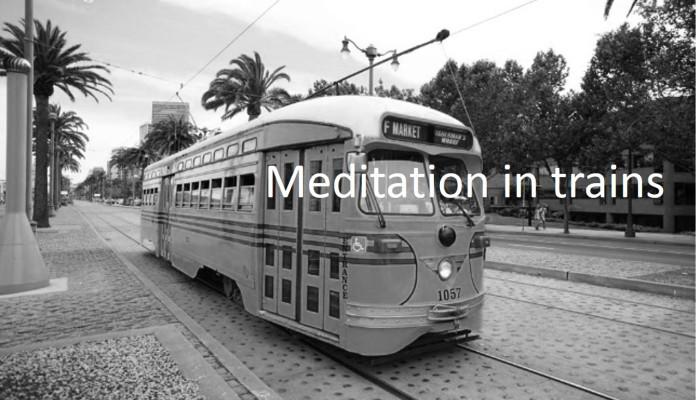 通勤瞑想のススメ:電車の中でヴィパッサナー瞑想をする効果