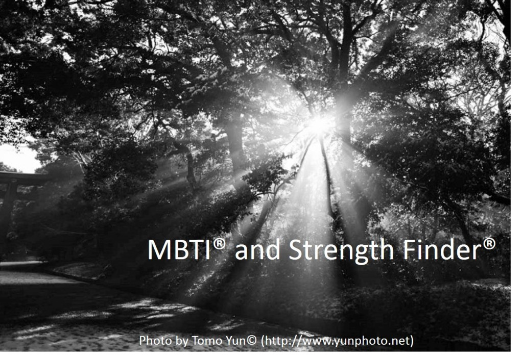 MBTI and Strength Finder