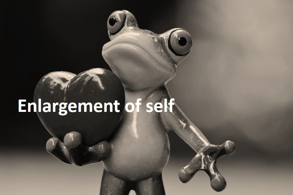 enlargement of self